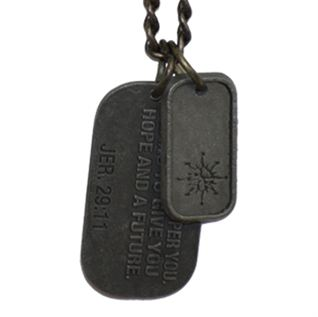 Picture of Plans To Prosper You Dog Tag