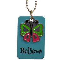 Picture of Believe Dog Tag