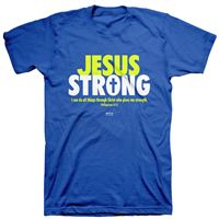 Picture of Jesus Strong