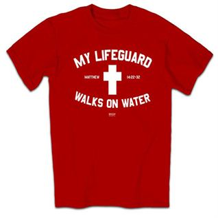 Picture of My Lifeguard Walks On Water